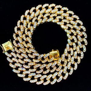 Other - Gold Iced Out 12mm Cuban Chain